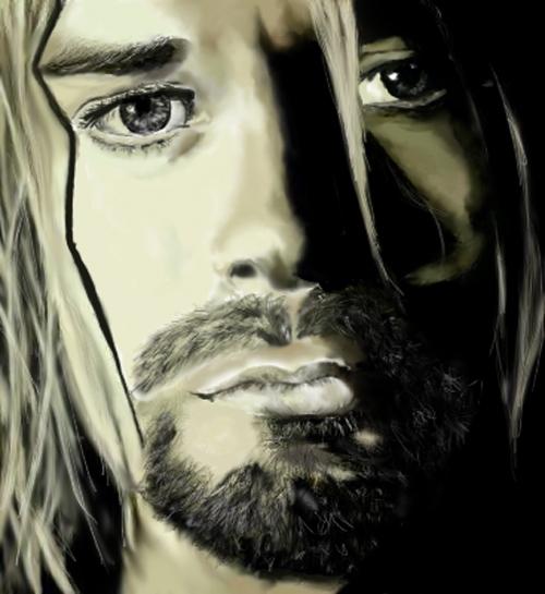 Kurt Cobain by lyly